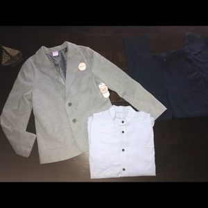 Boys Suit Set - Shirt, Pants, Jacket - Size 12